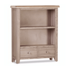 Salou 2 Drawer Low Bookcase
