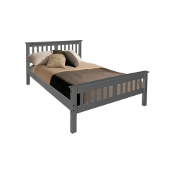 Dallas 4ft 6 Bedframe Grey