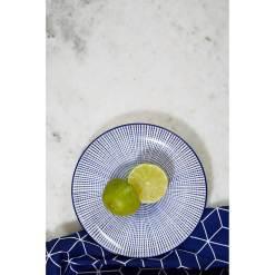 Maya Blue Dinner Set