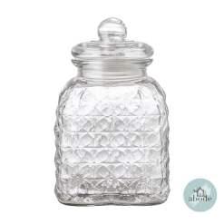 Medium Glass Cookie Jar
