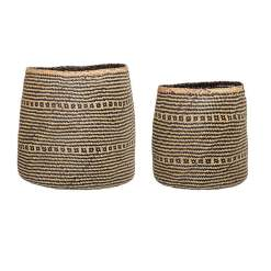 Multi Colour Seagrass Baskets
