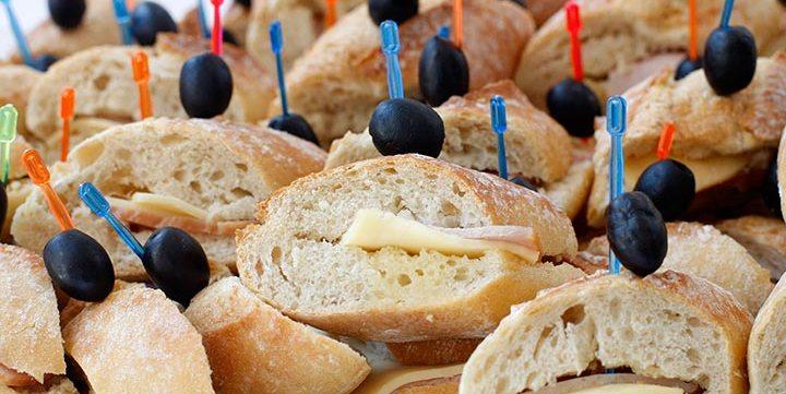 free stock image of fresh sandwiches