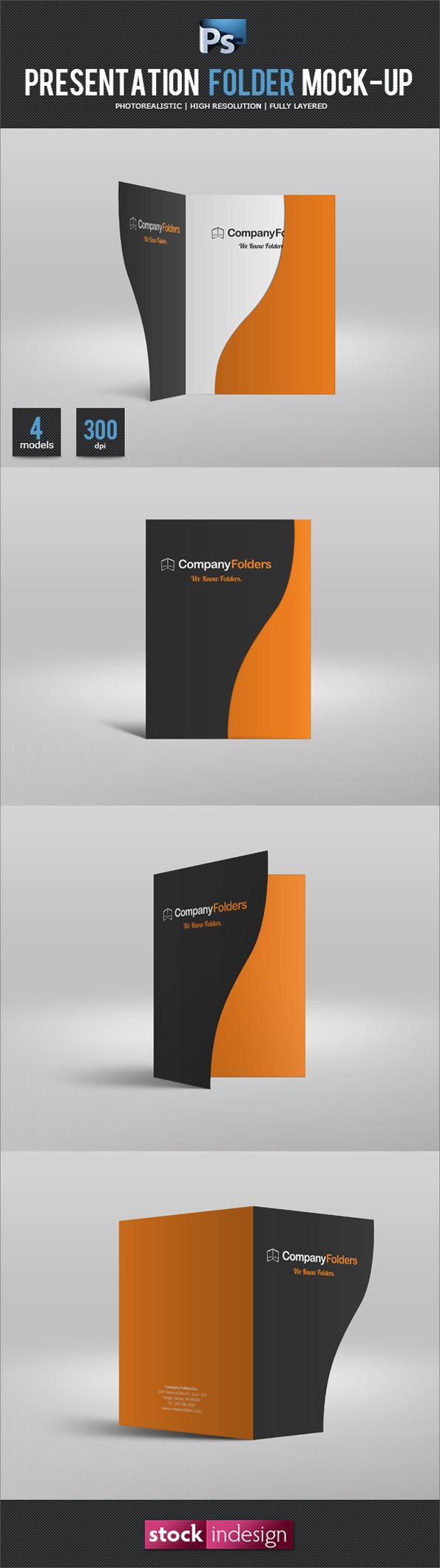 FREE Folder Mock-Up