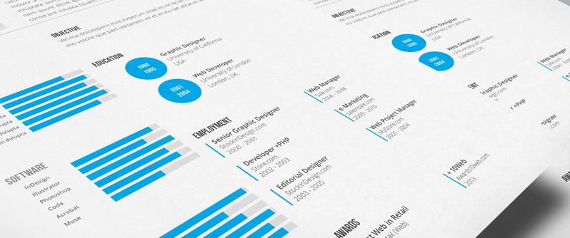 cv template free indesign resume cv templates free