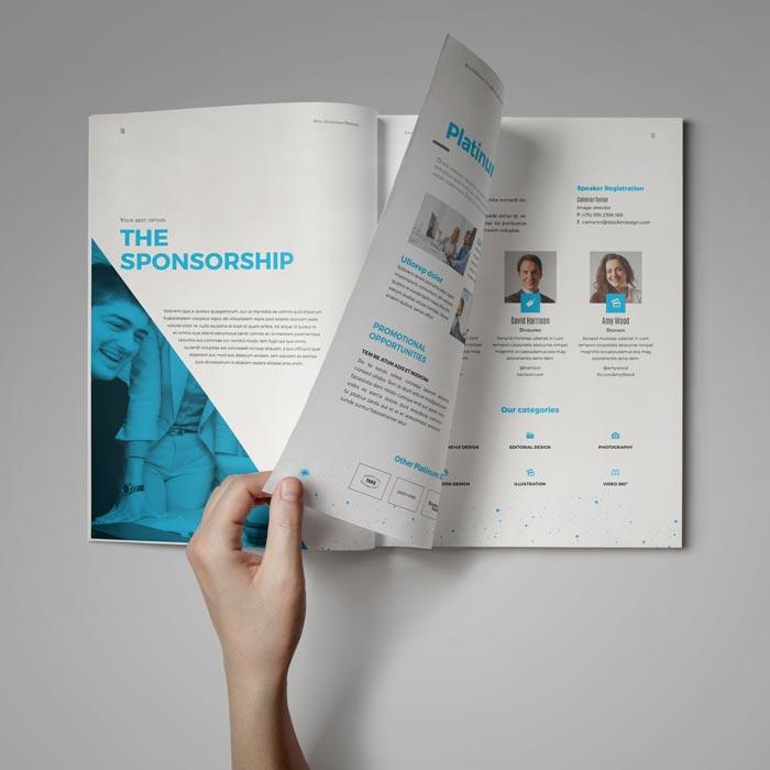Sponsorship Proposal Adobe InDesign Template For Designers