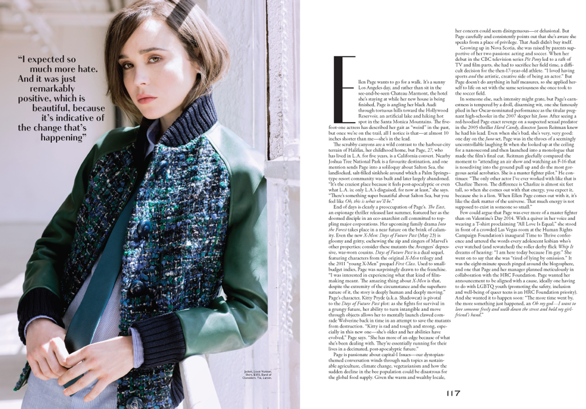 Nino Muñoz Photographs Actress Ellen Page For The Cover Of