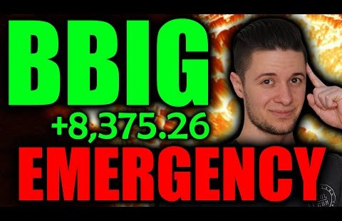 BBIG Stock EMERGENCY | Form This Now