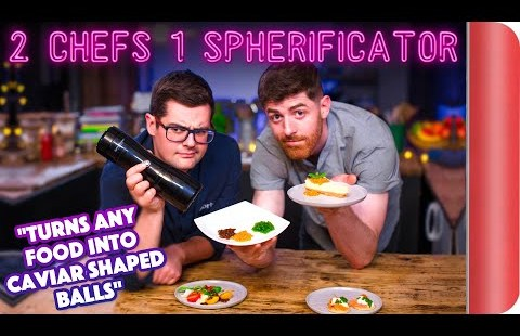 2 Chefs Take a look at a Spherificator!