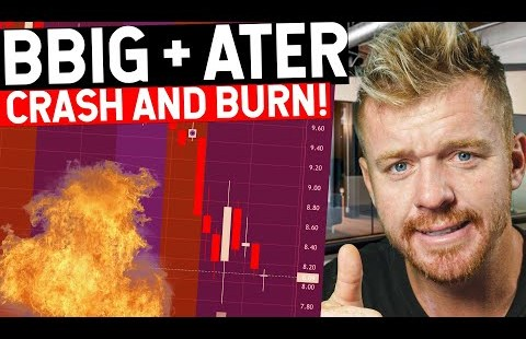 BBIG + ATER Inventory Fail! Crashing Down Momentum Long gone!