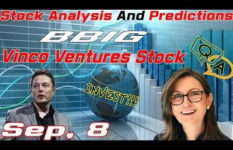 🔴Inventory Prognosis and Predictions This present day » BBIG Inventory » Vinco Ventures Inventory » September, 8