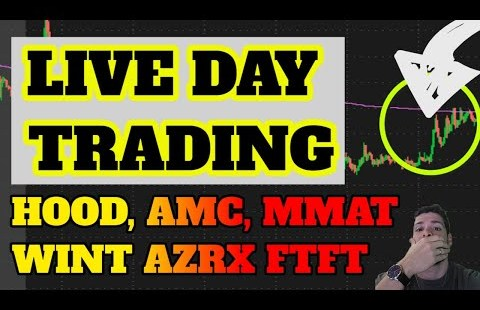 🔴LIVE DAY TRADING – SPRT + BBIG Squeeze? BTC Assessments $50k! DOGE Rip! MMAT, FCUV & AMC? Penny Shares
