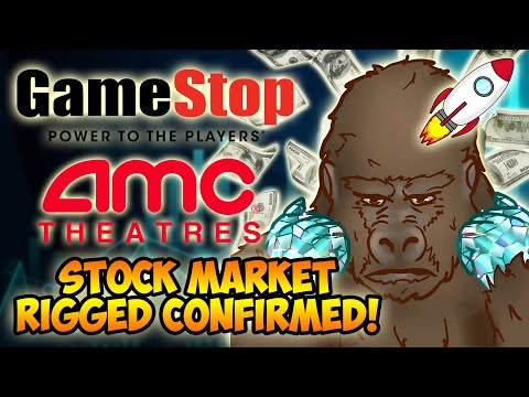 AMC/GME SHORT SQUEEZE! NYSE ADMITS TO PRICE MANIPULATION! STOCK MARKET IS RIGGED! SQUEEZE TOMORROW?!