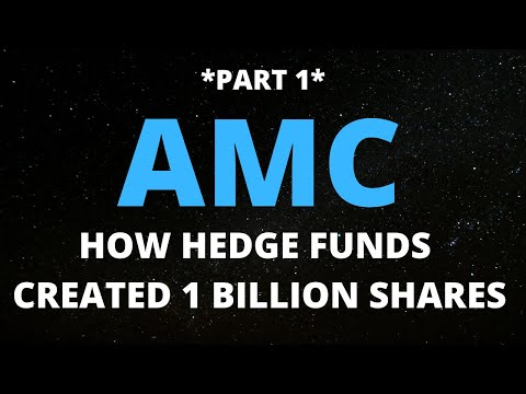 AMC STOCK HOW HEDGE FUNDS CREATED 1 BILLON FAKE SHARES