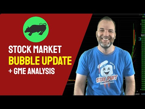 Inventory Market Bubble Substitute   GME Short Squeeze + Inventory Forecast