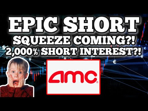 AMC STOCK MASSIVE SHORT SQUEEZE COMING? 2,000% SHORT INTEREST?! IS THIS FORREAL?