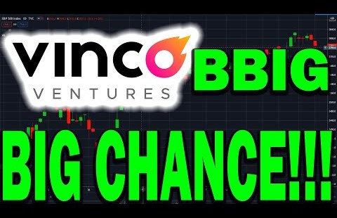 Vinco Ventures BBIG Stock to $27.32 WITHIN TWO DAYS?! HUGE OPPORTUNITY & EXACT ENTRY POINTS!