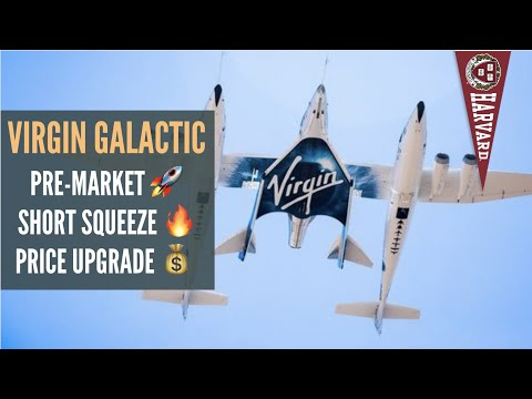 Virgin Galactic [SPCE]: Stock surging in pre-market! Quick squeeze incoming?