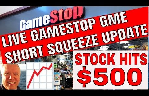 Gamestop GME Brief Squeeze Dwell News and Updates with Stock Markets With Bruce