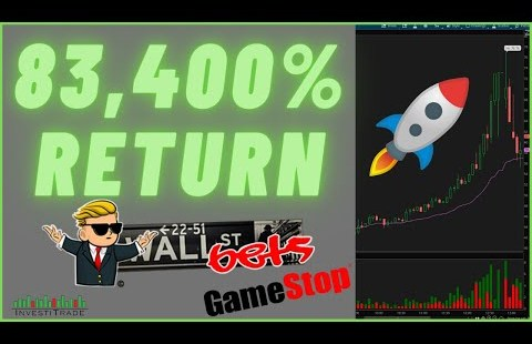 $83,400% Return $GME Alternate choices    MASSIVE Brief Squeeze 📈