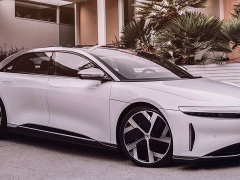 Lucid EV production begins, company says deliveries to start in October