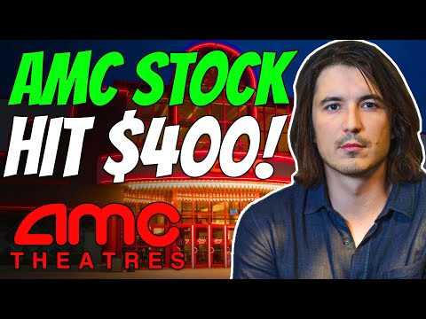 BREAKING: AMC STOCK JUST HIT $400/SHARE! – ROBINHOOD SHOWS $400! (AMC Inventory Immediate Squeeze Update)