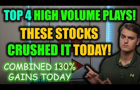 ARE THESE THE NEXT CEI STOCK? TOP 4 HIGH-VOLUME SQUEEZE STOCKS THAT CRUSHED IT TODAY!