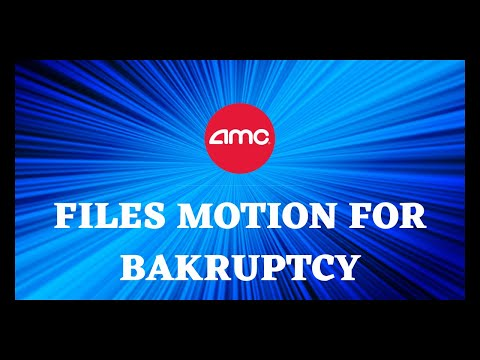 AMC STOCK | BANK OF AMERICA FILES MOTION FOR BANKRUPTCY