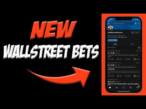 How To Join NEW WALLSTREET BETS on Reddit! 📲  NEW r/wallstreetbets   Join Public WallstreetBets!