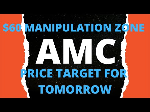 AMC STOCK PRICE TARGET FOR TOMORROW!! HUGE DAY