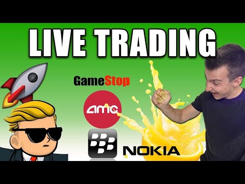 TRADING LIVE SHORT SQUEEZES   AMC Inventory, GME Inventory Updates And More! [1/29]