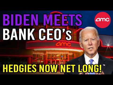 BIDEN MEETS WITH BANK CEO's – BAILOUT IS COMING? 🔥 – AMC Stock Short Squeeze Update