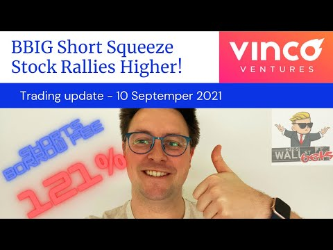 BBIG Stock – Continues to Surge! Vinco Ventures Short Squeeze Update