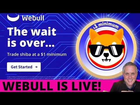 ITS OFFICIAL – SHIBA INU COIN IS NOW LIVE ON WEBULL! WILL IMPACT SHIBA INU PRICE PREDICTION?!