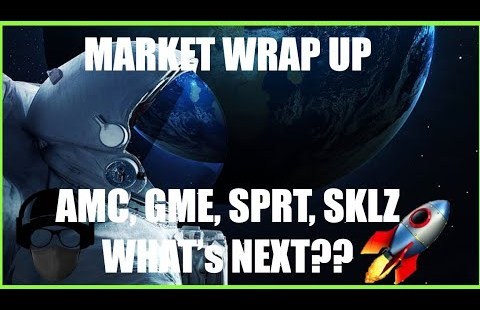 Market Updates  AMC, GME, SPRT  EVERYTHING TO KNOW IN 3 MINS