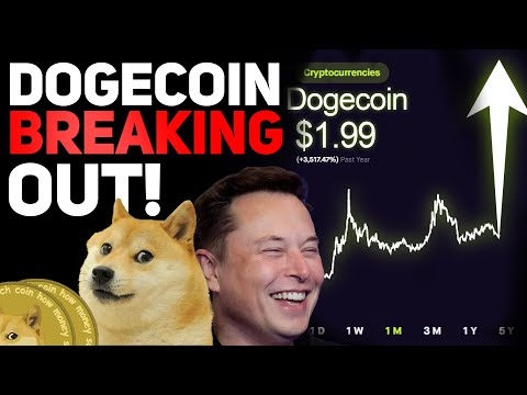 DOGECOIN IS BREAKING OUT RIGHT NOW! HERES WHY! (DOGECOIN PRICE PREDICTION!)
