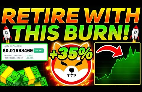 SHIBA INU HOLDERS: RETIRE WITH THIS COIN BURN! (IT'S OFFICIAL) – SHIB Token Data