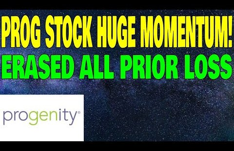 PROG STOCK BREAKOUT! PROGENITY IMPORTANT NEWS AND INFO