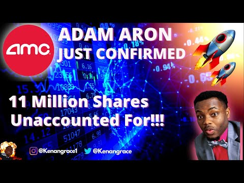 AMC Inventory – 11 Million Shares Officially Unaccounted For! (PROOF)