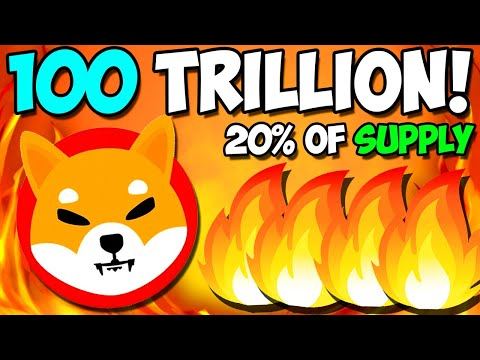 *URGENT* 100 TRILLION SHIBA INU BURN IS COMING!! 20% OF SUPPLY!! – EXPLAINED
