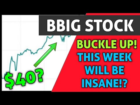 BBIG STOCK UPDATE! – *EXPECT BIG THINGS THIS WEEK!* + CAN BBIG REALLY HIT $40+ SOON!? – WARNING!!!