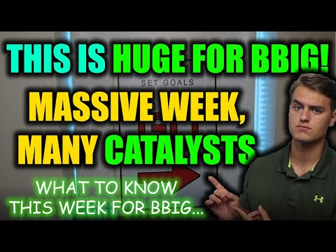 MASSIVE BBIG STOCK UPDATE! THIS WEEK IS HUGE FOR BBIG! BBIG Stock Analysis + Worth Prediction
