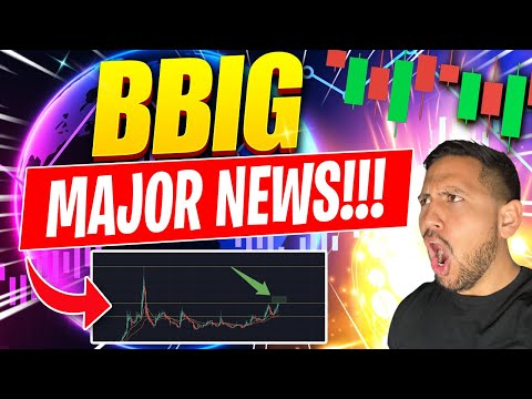 MAJOR NEWS!!! | BBIG Inventory Chart Technical Analysis & Trace Predictions Update!