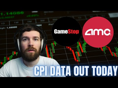 LIVE   AMC & GAMESTOP STOCKS 🔥   CPI DATA OUT TODAY!