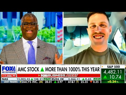 """Trey's Trades & Charles Payne This day On AMC Stock, Retail Traders, & """"Tidy Money"""" 