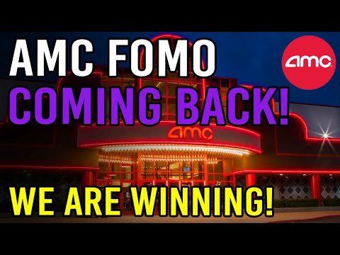 FOMO COMING BACK TO AMC! – WE ARE WINNING – AMC Stock Rapid Squeeze Update