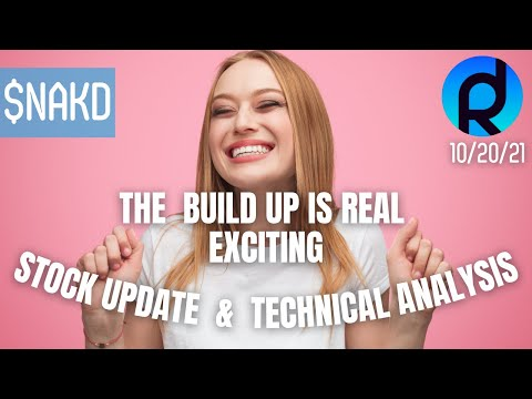 NAKD STOCK UPDATE 10/20/21 | TECHNICALS ONLY | LETS STOP SPECULATING AND TRUST JDR