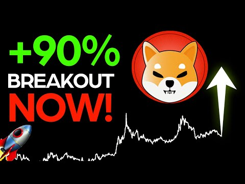 SHIBA INU 90% BREAKOUT RIGHT NOW! ALL SHIBA INU HOLDERS SHOULD WATCH THIS!