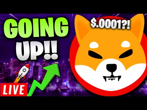 SHIBA INU COIN – GOING UP! LET'S SET A NEW ALL-TIME HIGH ($0.0001!)! + SAITAMA WATCH PARTY! 🔴