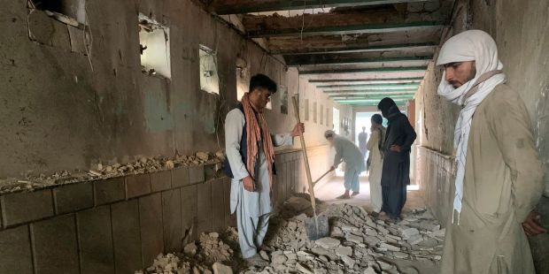 Dozens dead after Friday bombing at Shiite Mosque in Afghanistan