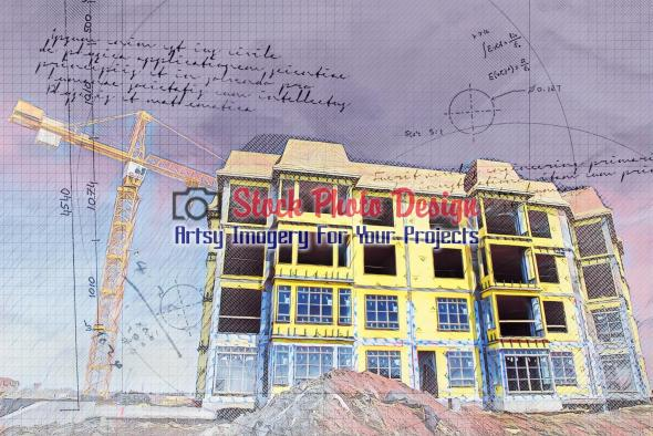 Apartment Construction Project Sketch 1